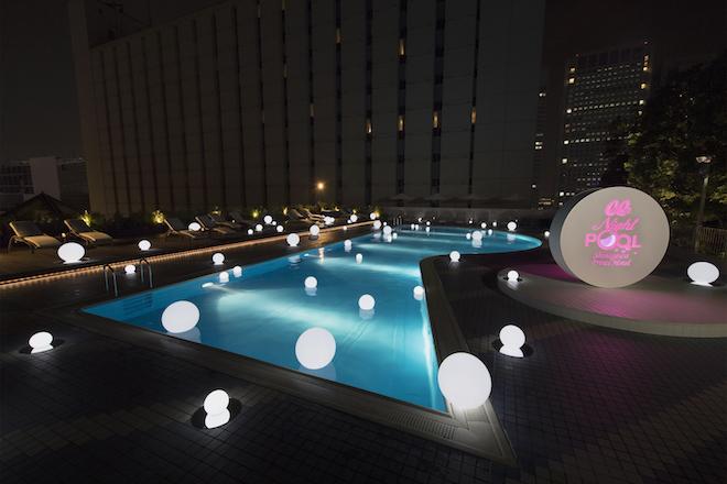 東京で激アツなナイトプールその5品川プリンスホテル