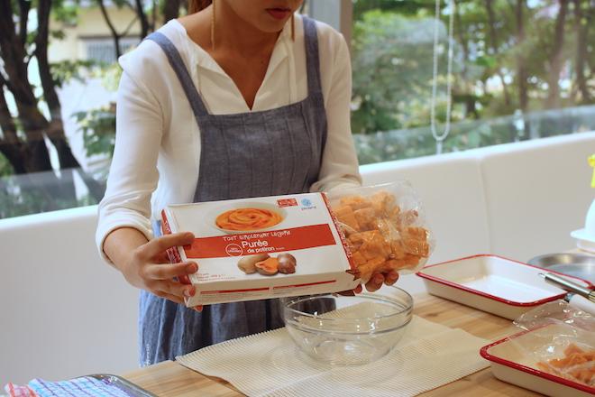 かぼちゃのピューレ627円(税込)