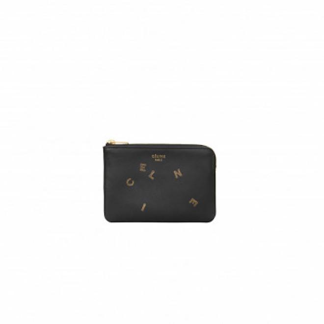 「アルファベット コイン&カードパースオンチェーン(ブラック)」(4万5,000円)