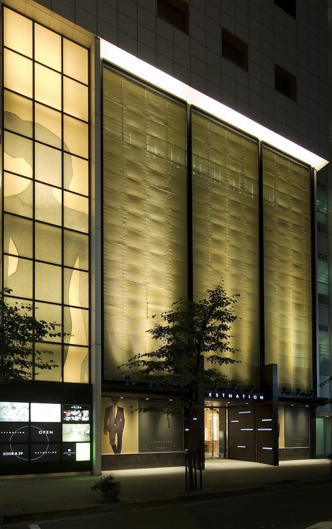 リニューアル前のエストネーション銀座店