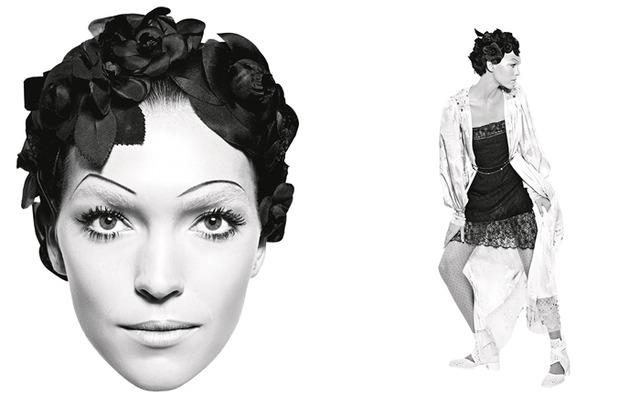 シャネル、アートコラージュのような2017春夏プレタポルテの広告キャンペーン展開