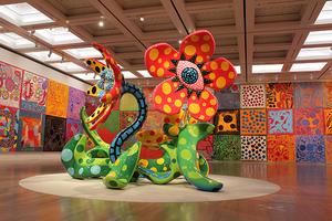 草間彌生のエネルギーに触れる大回顧展「わが永遠の魂」、国立新美術館で開催中