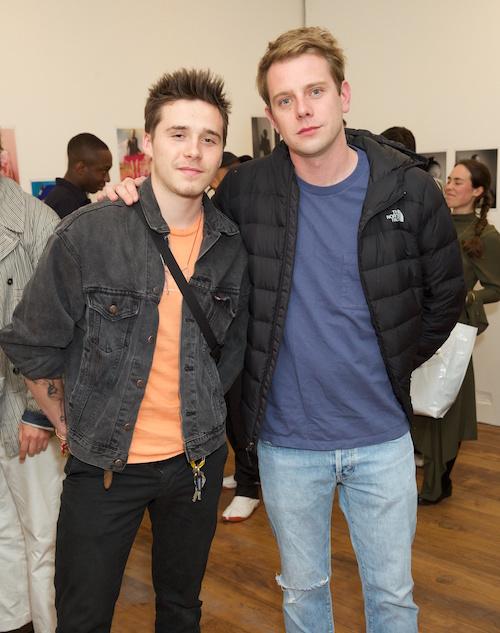 Brooklyn Beckham and Jonathan Anderson