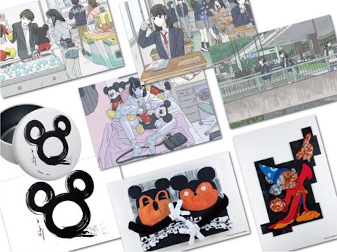 日本人アーティストグッズ(一部): 日本展オリジナル企画・日本人アーティストによる作品のグッズも
