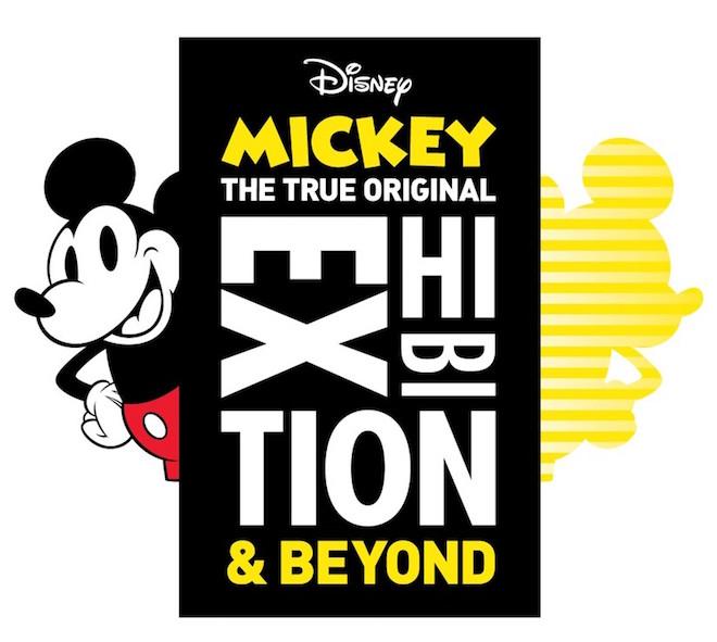 「ミッキーマウス展 THE TRUE ORIGINAL & BEYOND」 キービジュアル