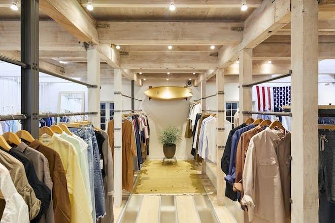 3F:AMERICAN RAG CIEのオリジナルをはじめ、国内外より厳選したファッションブランドをキュレーションしたフロア