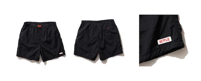 Netflix × BEAMS SWEAT BOXER SHORT PANTS Color:BLACK Price:¥8,250(inc.tax) Size:S/M/L/XL