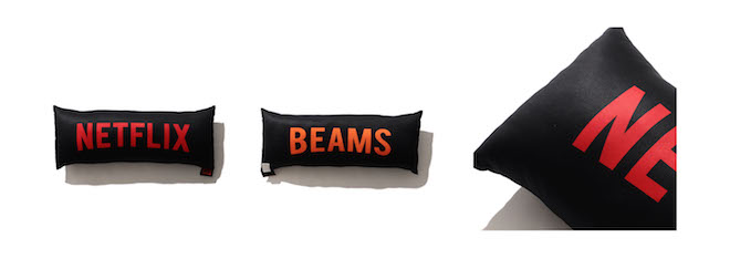 Netflix × BEAMS BIG CUSSION Color:BLACK Price:¥7,700(inc.tax) Size:ONE SIZE アイテム