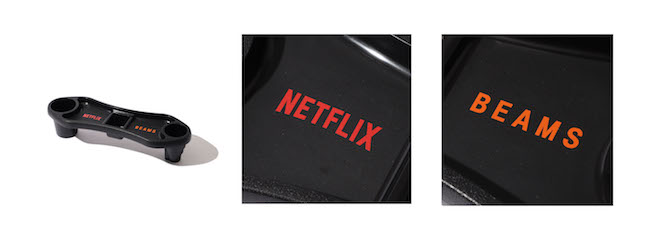 Netflix × BEAMS KNEE REST TRAY Color:BLACK Price:¥4,950(inc.tax) Size:ONE SIZE