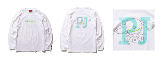EDEN × BEAMS PJ LONG SLEEVE T Color:WHITE Price:¥6,600(inc.tax) Size:S/M/L/XL/XXL