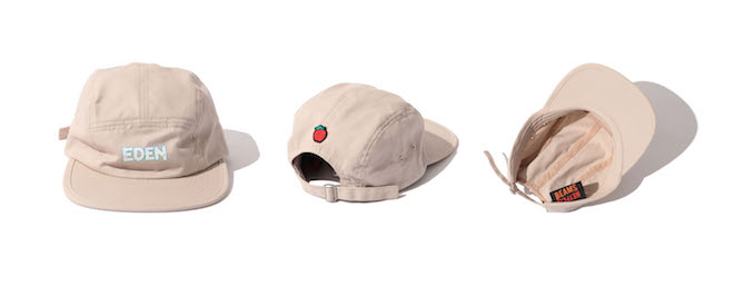 EDEN × BEAMS LOGO CAP Color:TAUPE Price:¥4,950(inc.tax) Size:one size 頭周り:58cm